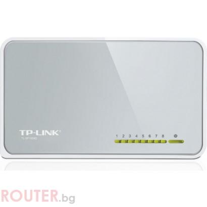 Мрежов суич TP-LINK TL-SF1008D 100 Mbps