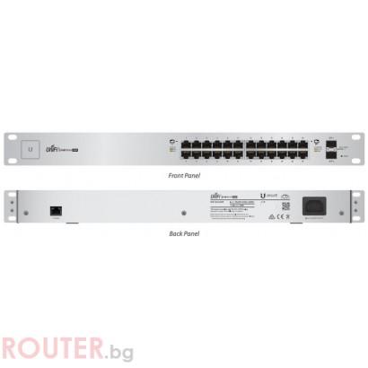 Мрежов суич UBIQUITI UniFi Switch, 24-Port, 250W