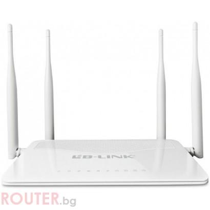 Wireless Рутер LB-Link BL-WR4300H 300M 500mw 5dBi с 4 антени