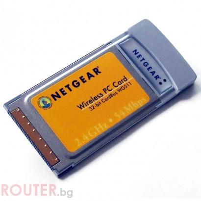 NETGEAR WG511EE Wireless PCMCI Card