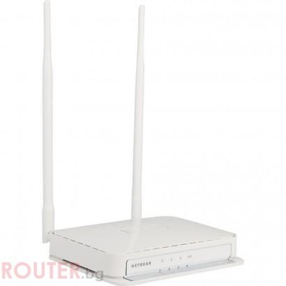 Мрежова точка за достъп NETGEAR WN203, 2x external antenna