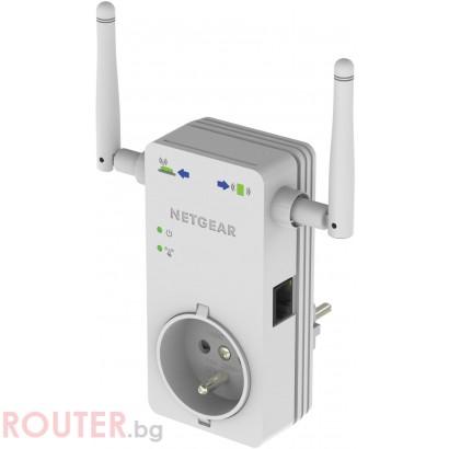 Мрежова точка за достъп Netgear WN3100RP N300 WLAN Repeater