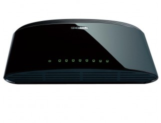 Мрежов суич D-LINK 8-Port 10/100Mbps Fast Ethernet Unmanaged Switch
