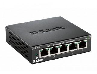 Мрежов суич D-LINK DES-105, 5-port