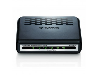 Мрежов суич D-LINK D-Link 5-Port 10/100/1000Mbps Unmanaged Gigabit Switch