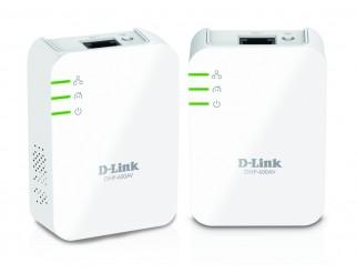 Мрежово устройство D-LINK DHP-601AV PowerLine AV2 1000 HD Gigabit Starter Kit