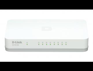 Суич D-LINK GO-SW-8G, 8 портов, Gigabit