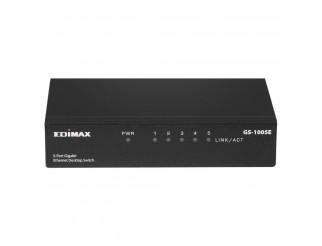 Суич EDIMAX GS-1005E, 5 портов, Gigabit