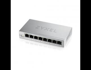 Суич ZyXEL GS-1200-8, 8 портов, Gigabit, webmanaged