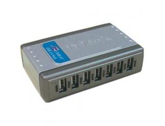 Мрежово устройство D-LINK 7-Port USB 2.0 Hub