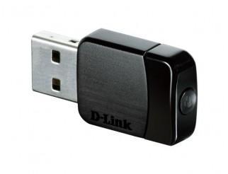 Мрежово устройство D-LINK Wireless AC DualBand USB Micro Adapter