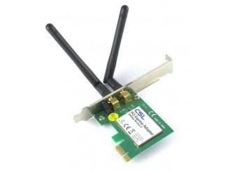 Безжична PCI-E лан карта 300M, No brand