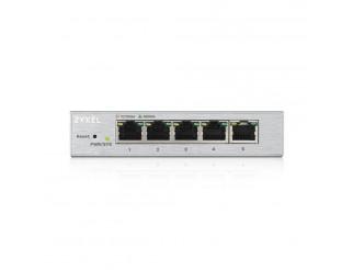 Мрежов суич ZYXEL GS1200-5 5 Port Gigabit web managed Switch