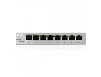 Мрежов суич ZYXEL GS1200-8 8 Port Gigabit web managed Switch