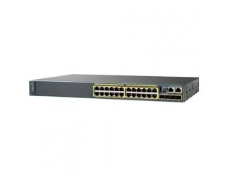 Cisco Catalyst 2960-X 24 GigE, 2 x 10G SFP+, LAN Base WS-C2960X-24TD-L