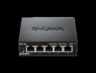 Мрежов суич D-LINK DGS-105/E 5-Port Gigabit