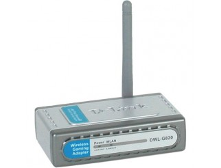 D-Link DWL-G820 Wireless Gaming Adapter, 802.11g, 108Mbps