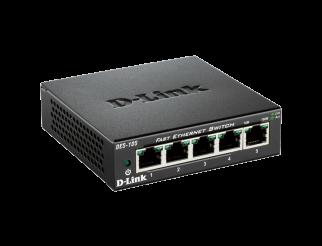 Мрежов суич D-LINK DES-105 5-Port Unmanaged