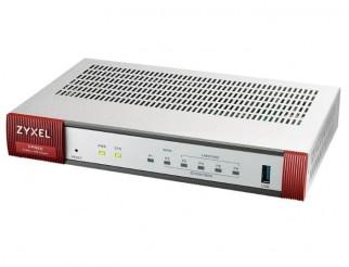 Защитна стена ZyXEL VPN50, VPN, Firewall, 10/100/1000, 1xWAN, 1xSFP, 4xLAN, 1xUSB, Черен