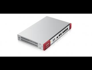 Защитна стена ZYXEL USG FLEX 200 UTM BDL, 10/100/1000, 4x LAN/DMZ, 2x WAN, 1xSFP, 2xUSB, с включени лицензи за 1 година