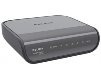Мрежов суич BELKIN 5 port Gigabit