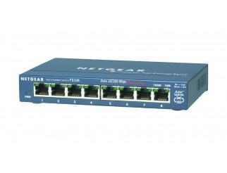 Мрежов суич Netgear FS108 8 x 10/100 ProSafe switch